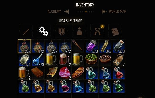 Best Witcher 3 Mods - Apply Oils