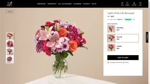 FTD Flowers review