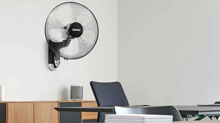 Duronic Wall Mounted Fan in office