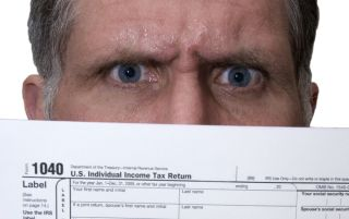 Taxes bring stress for 56 percent of Americans, a new poll finds. It's true especially for those who wait to the last minute to file.