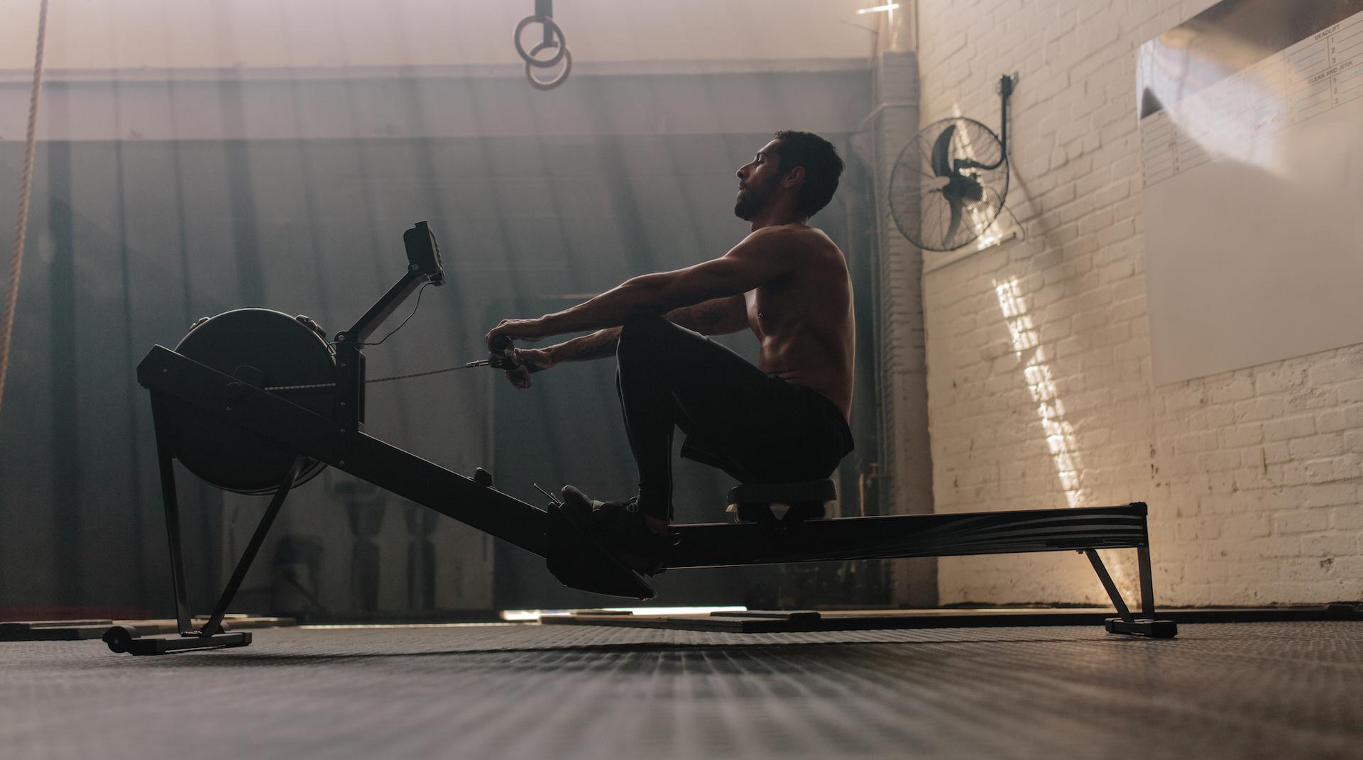 rowing machine burn belly fat
