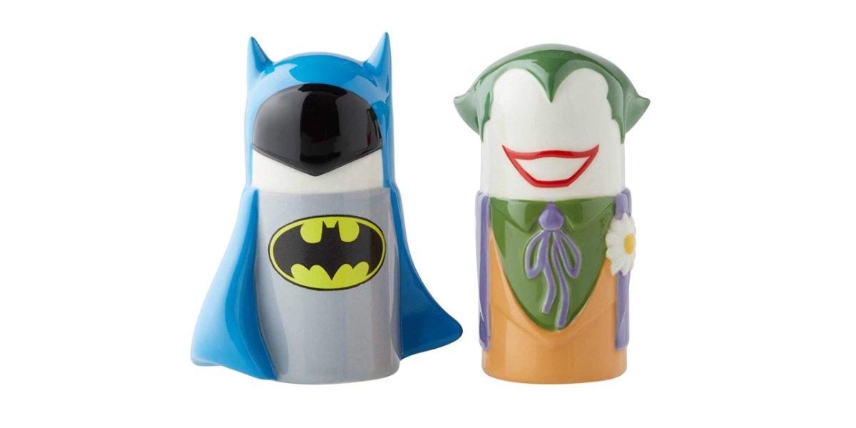 Batman / Joker Ceramic Salt and Pepper Shaker Set