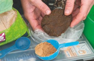 Making the perfect carp paste bait