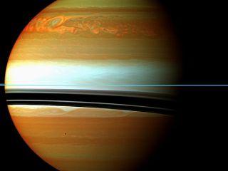 Cassini Saturn Storm