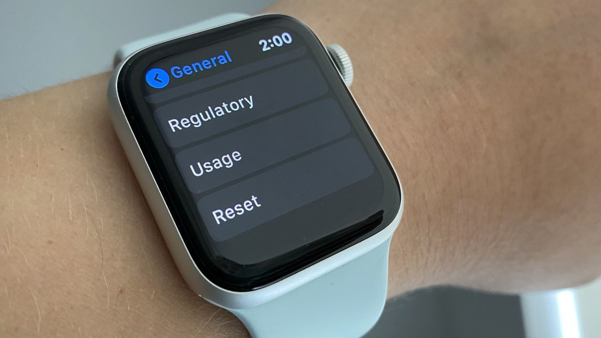 How to reset an Apple Watch