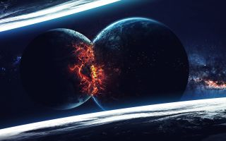 Planets can be destroyed by colliding with each other, but that's not likely to happen too often.