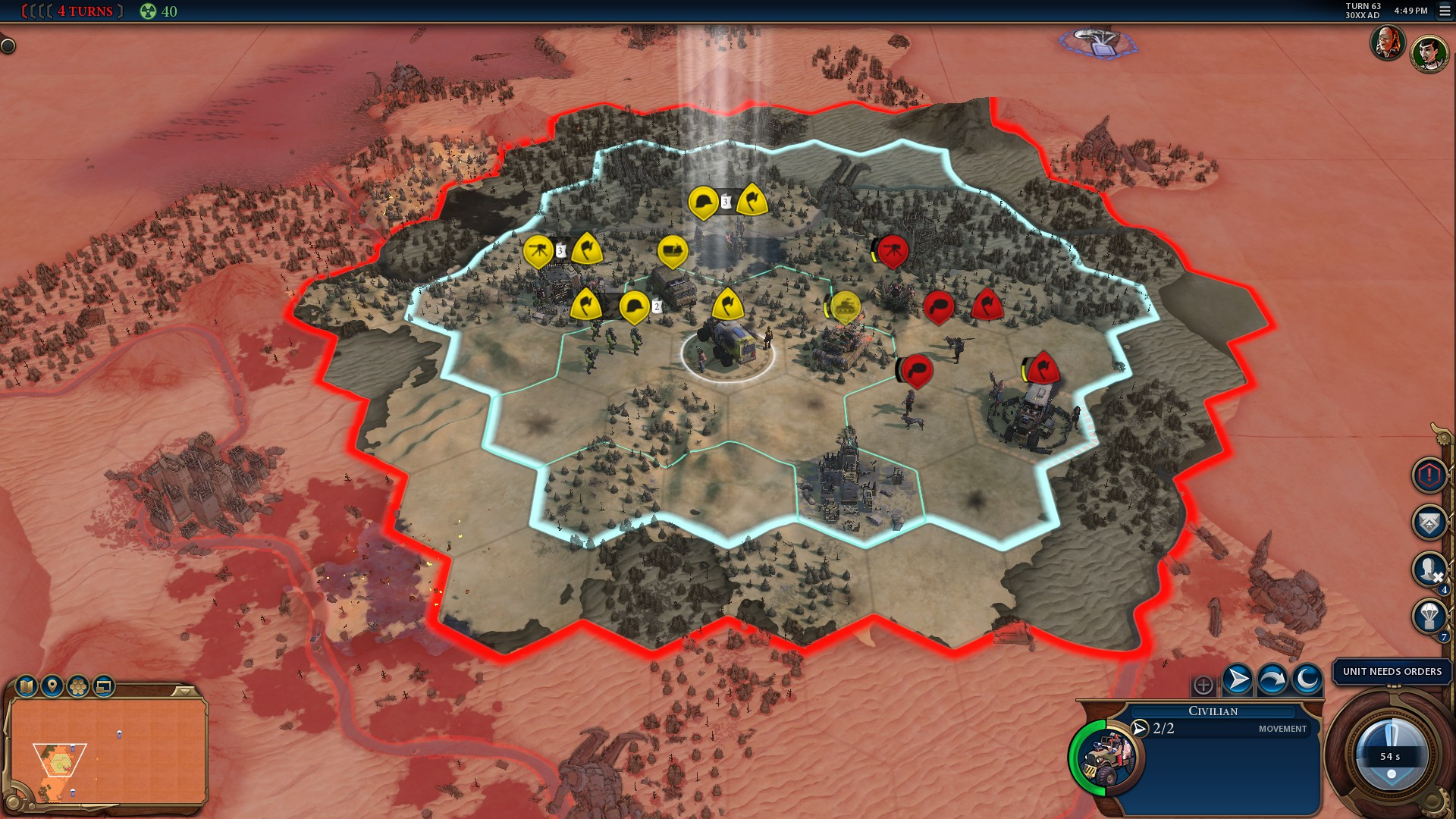 Civilization 6 battle royale ditches the civs and cities but keeps the nukes | PC Gamer