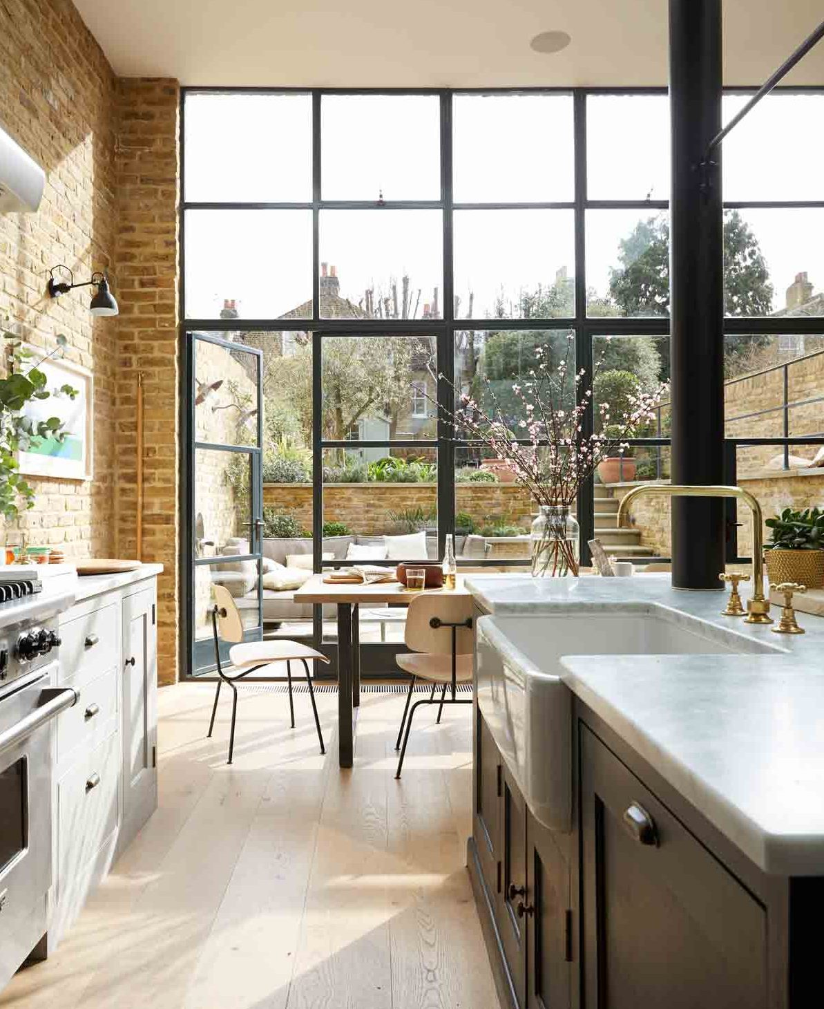 This South London Home Has A Stunning Crittall Style Rear Extension