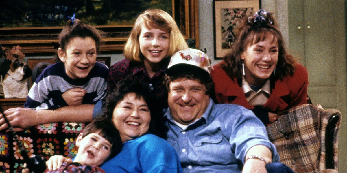 Roseanne and family