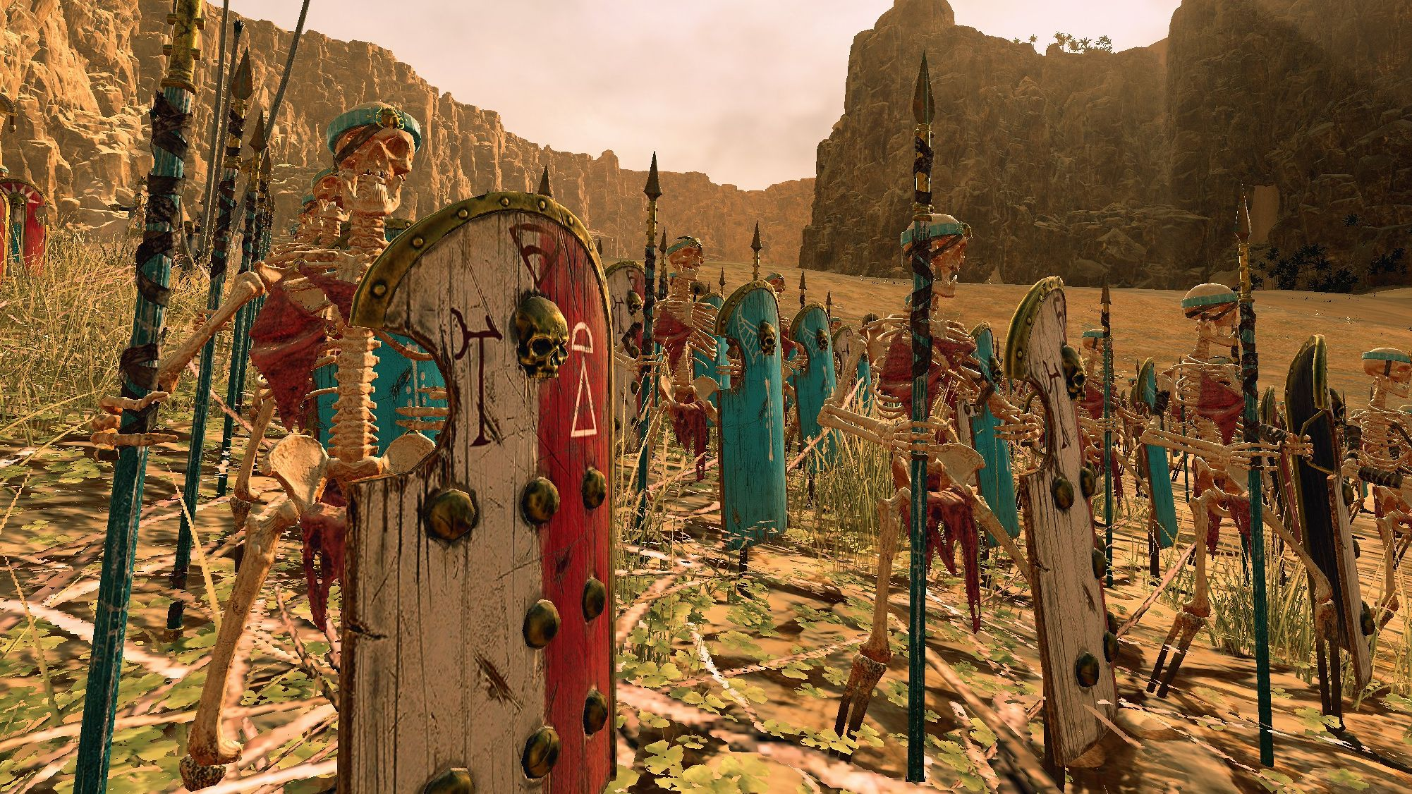 Total War: Warhammer 2 Rise of the Tomb Kings is secretly a Heroes
