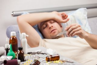 sick, illness, men, women, male, female, pain tolerance