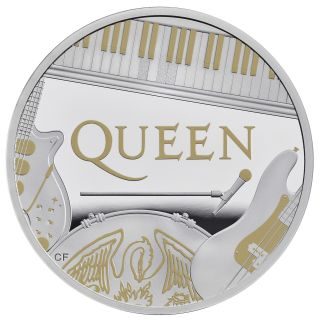 The Queen One Ounce Silver Proof Coin