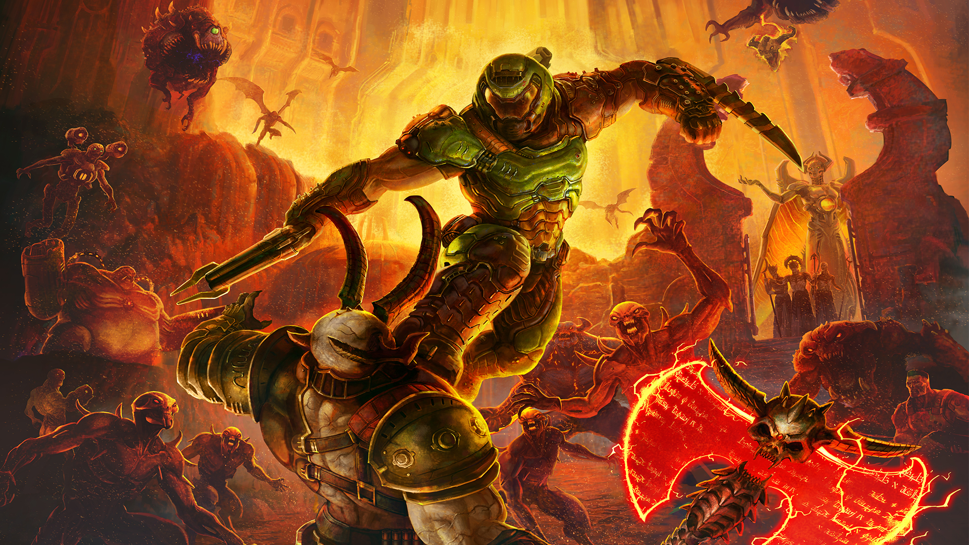 Doom Eternal Review Screams At You To Move Faster And To Fight