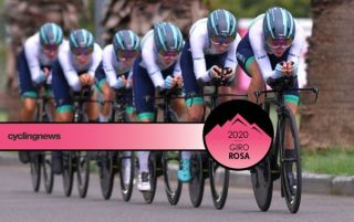 Equipe Paule Ka ride to fourth on the opening team time trial stage of the 2020 Giro Rosa