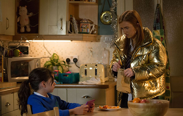 EastEnders Tiffany Butcher and Lily Fowler