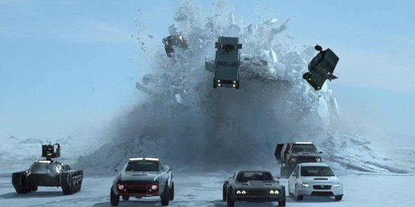 Fate of the furious sub chasing cars