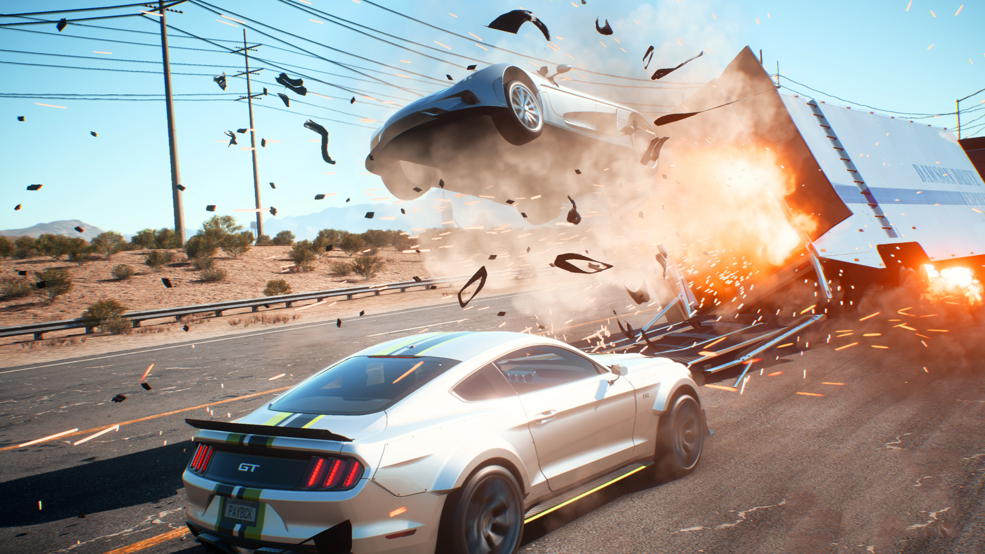 Need For Speed Payback Review Silly Over The Top And A Little Bit Self Indulgent But In A Fantastic Action Movie Way Gamesradar