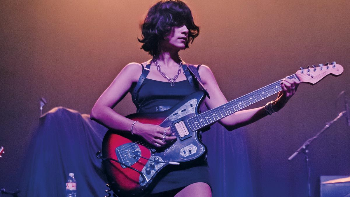 """L.A. Witch's Sade Sanchez: """"People can't go out, so this is a perfect time for everybody to learn how to play the guitar"""""""