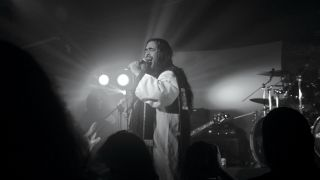 Dantesco's Eric Morales on stage