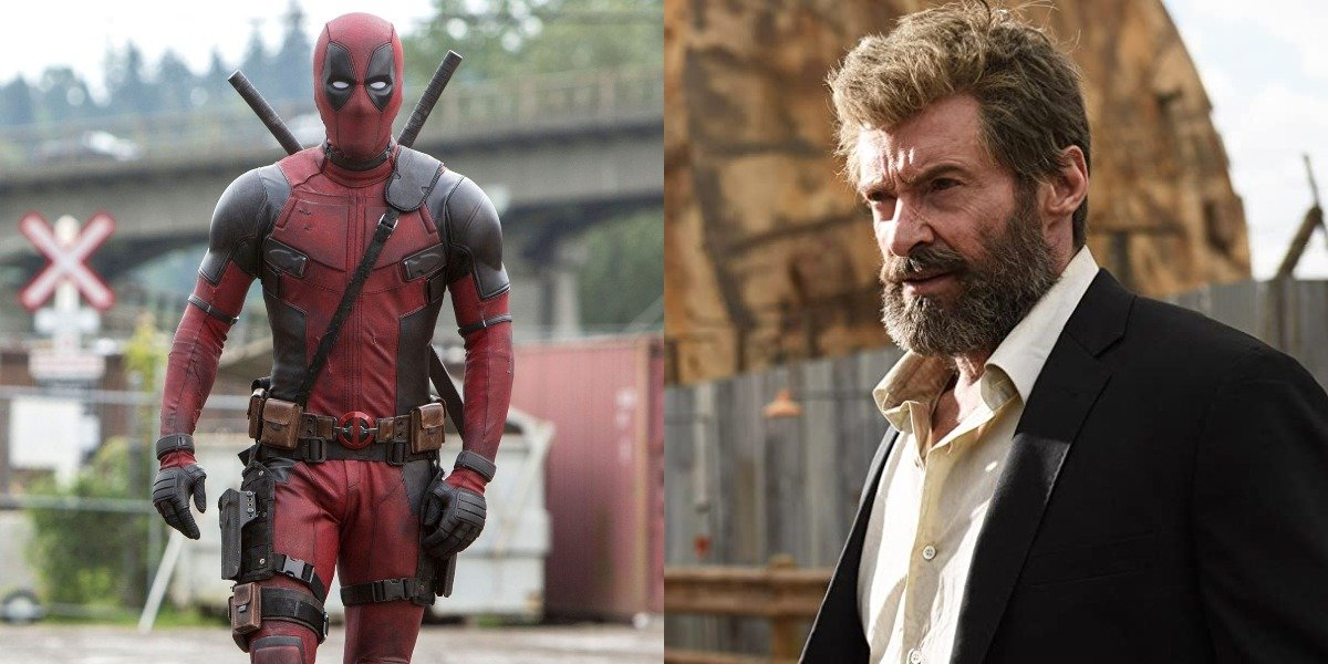 Ryan Reynolds as Deadpool and Hugh Jackman as Logan
