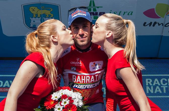Vincenzo Nibali leads the Tour of Croatia after stage 4.