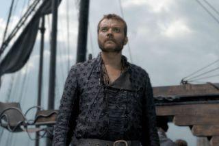 Pilou Asbaek as Euron Greyjoy in Game of Thrones.