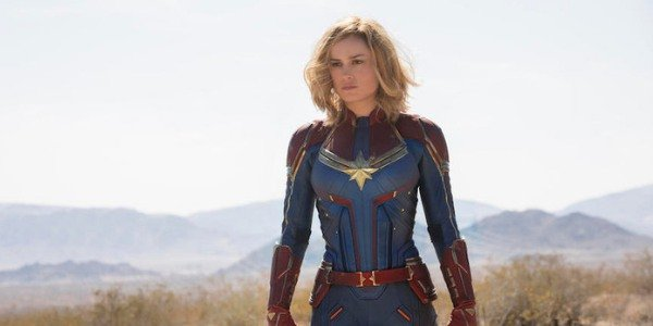 Captain Marvel does not need to get angry to smash