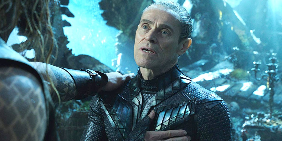 Willem Dafoe in Aquaman DC