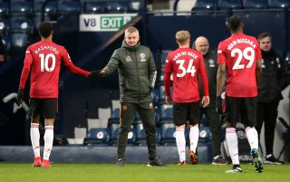 West Bromwich Albion v Manchester United – Premier League – The Hawthorns