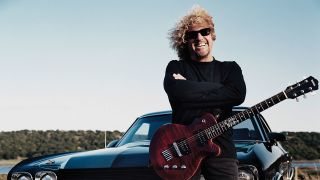 A press shot of sammy hagar