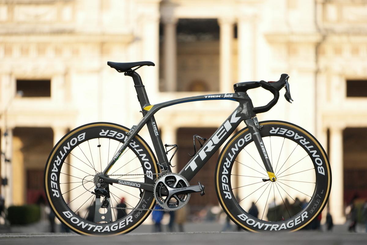 Fabian Cancellara's Milan-San Remo Trek Madone   Cyclingnews