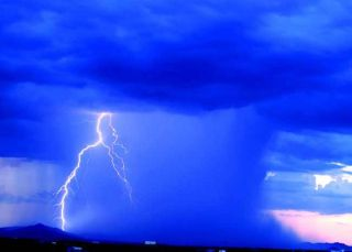 monsoon, storms, thunderstorms, lightning