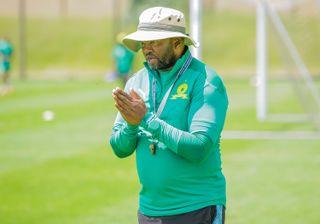 Mamelodi Sundowns co-coach Manqoba Mngqithi