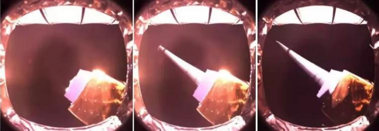 Radio Telescope Unfurls 3 Antennas Beyond the Far Side of the Moon