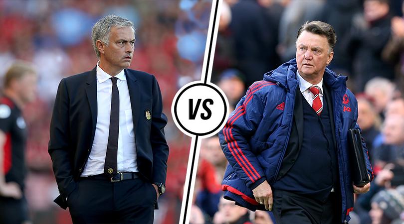 Mourinho Vs Van Gaal: How Man United's New Tactics Compare