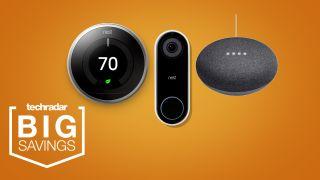 Cyber Monday Google nest thermostat deals