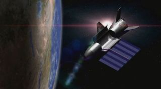 Artist's Illustration: X-37B in Orbit
