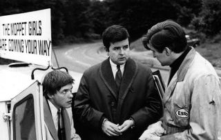 Likely Lads actor Rodney Bewes with James Bolam