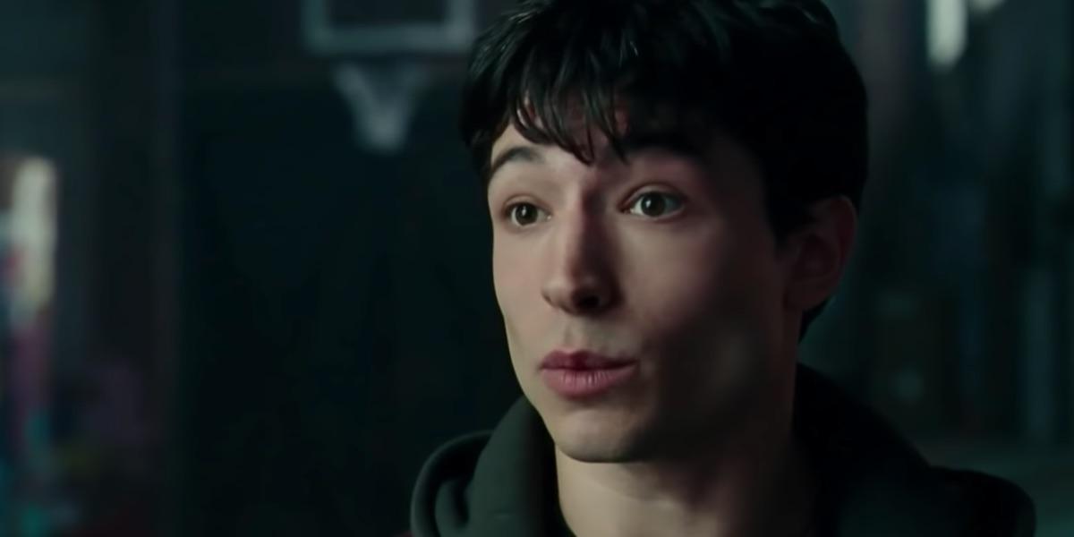 Ezra Miller as Barry Allen