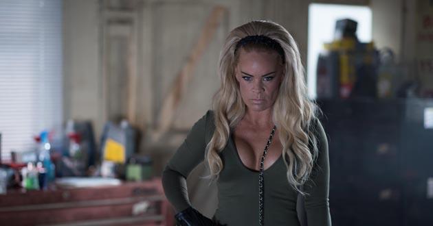 Tamara Wall plays Grace Black in Hollyoaks