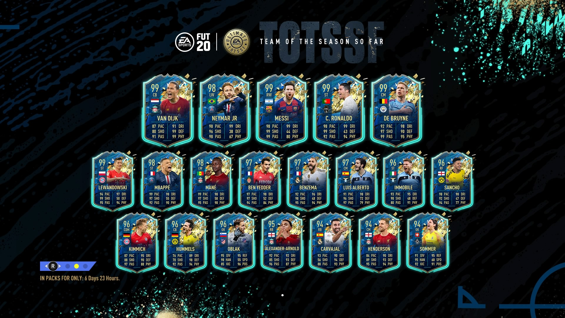 Fifa 20 Tots Guide Ligue 1 Team Brings 98 Rated Neymar And Mbappe Gamesradar