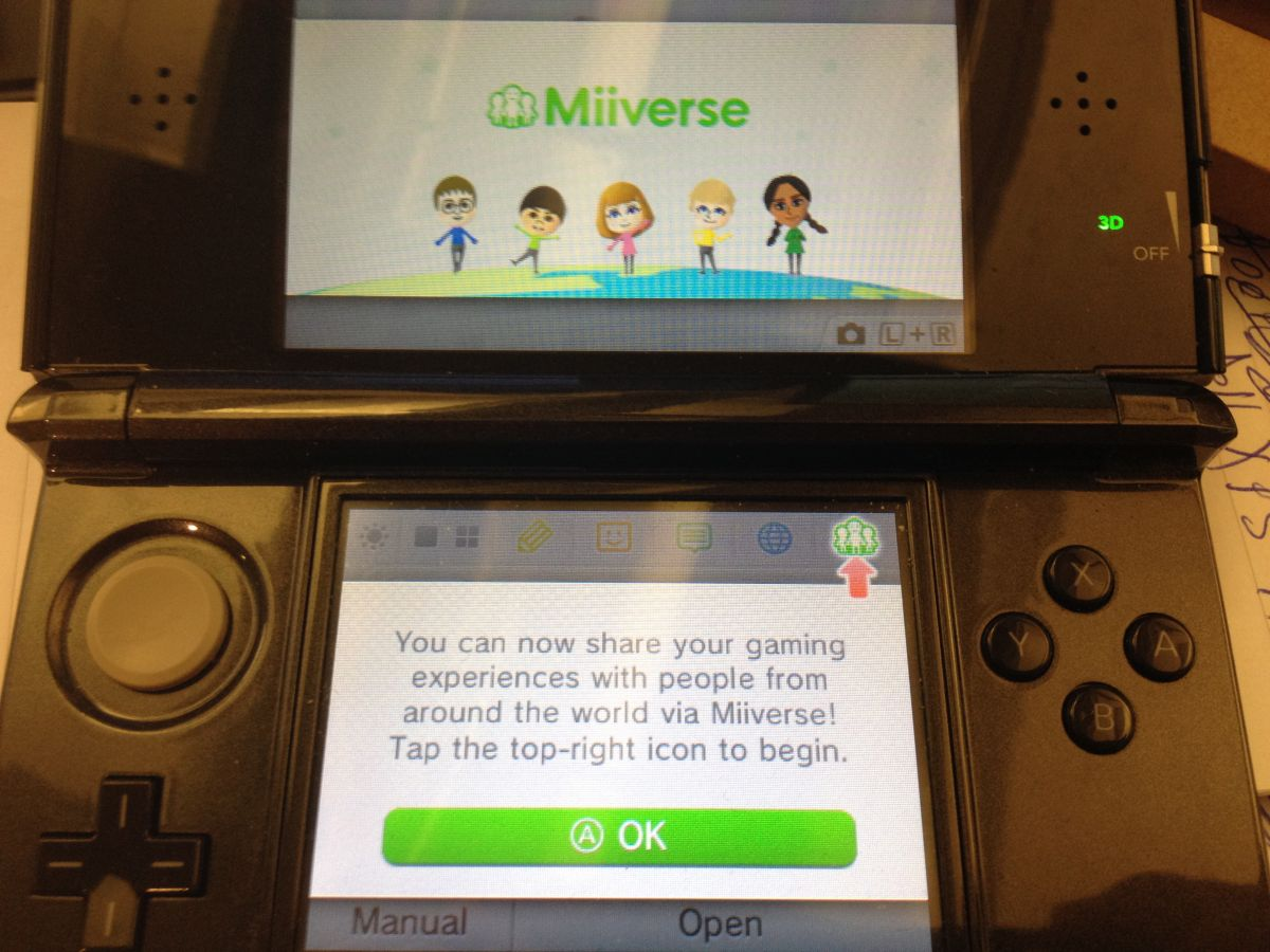 How to Use Your Nintendo Network ID and Miiverse on 3DS