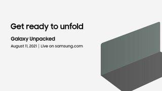 Samsung Galaxy Unpacked August 2021 invite