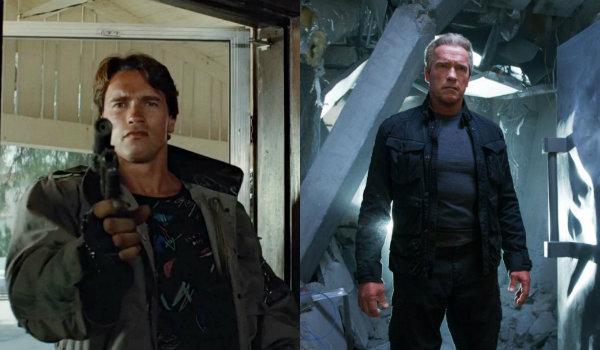Terminator Genisys young old arnold schwarzenegger