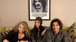 Gail, Diva and Dweezil Zappa