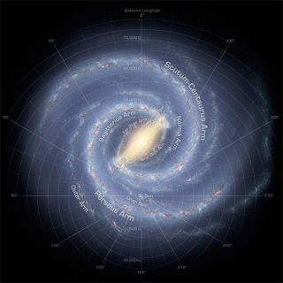 New Images: Milky Way Loses Two Arms