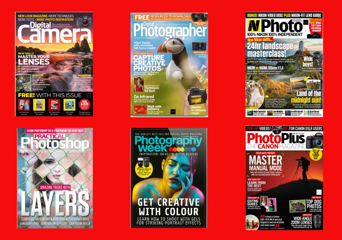 The best photography magazine subscription deals 2018 – give the perfect gift this Christmas