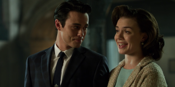 fox gotham season 1 john and mary grayson the blind fortune teller dick grayson's parents