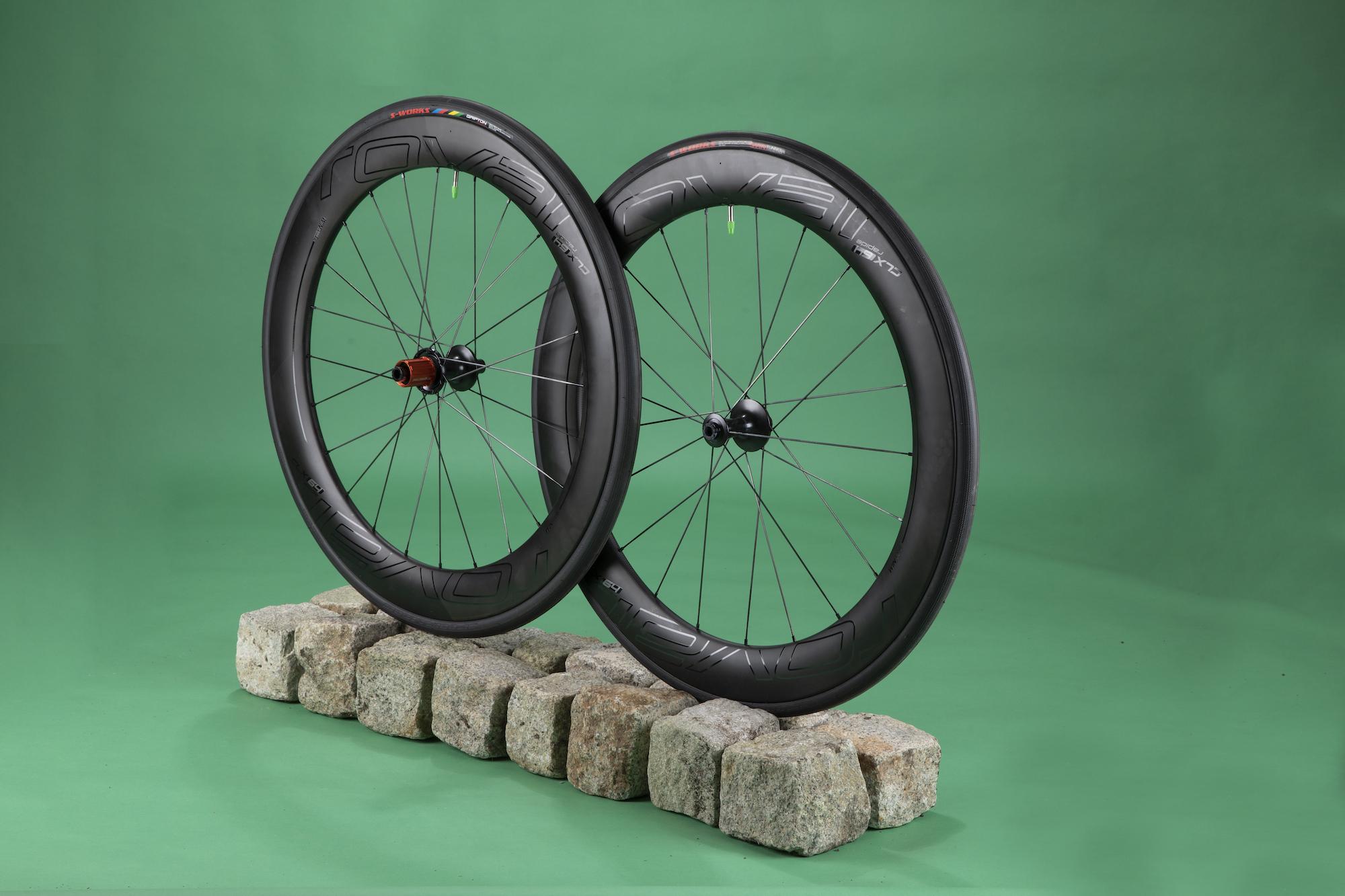 Roval CLX 64 disc wheelset