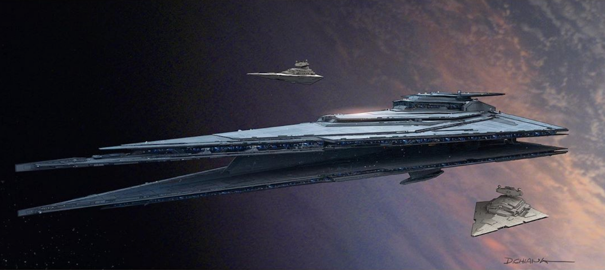 The Star Destroyer concept art